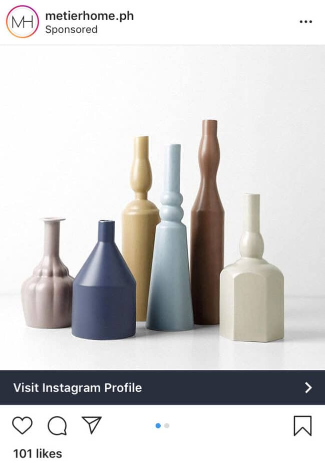 Instagram Ads sample