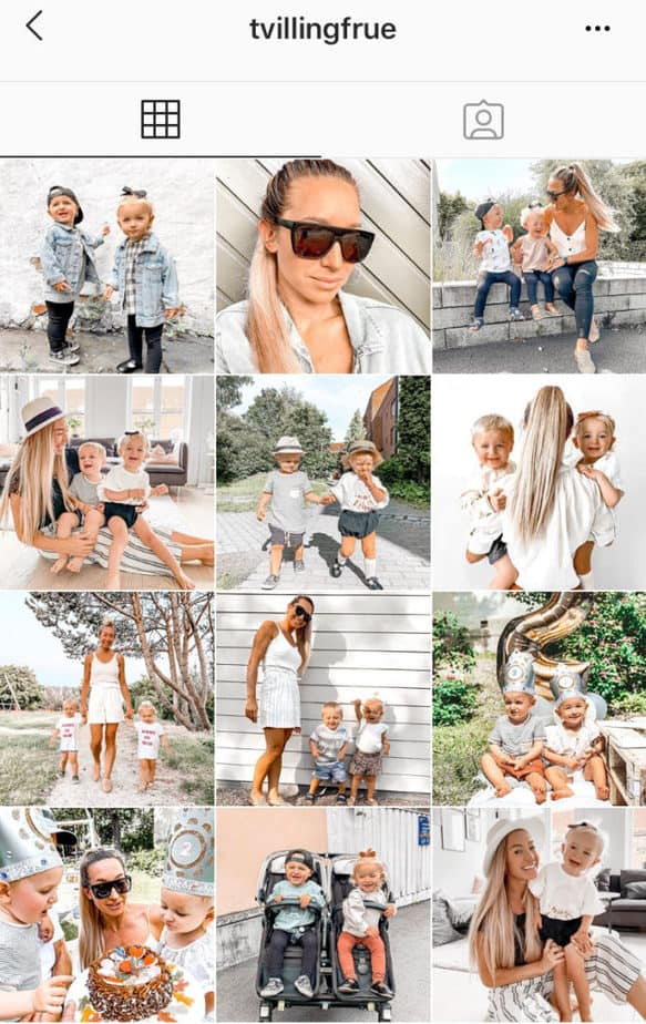 how to become famous on instagram - cohesive feed